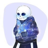 Default sans  galaxy sweater