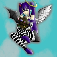 Default half angel half devil