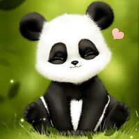 Default cute baby panda art 3763   baby wallpapers  300