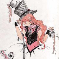 Default mad hatter girl