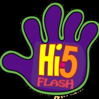 Default hi 5 flash logo