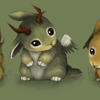 Default baby mythical bunnies by ramzawolf d328sz7
