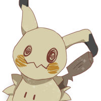 Default pokemon  mimikyu by matchax daap2nd