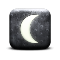 Default 131170 whitewashed star patterned icon natural wonders moon7 sc48